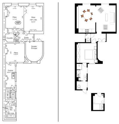 Plan au Sol by A+B KASHA Designs