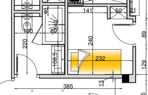 chambre sans fen tre. Black Bedroom Furniture Sets. Home Design Ideas