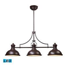 Chadwick LED 3-Light Billiard/Island Light in Oiled Bronze
