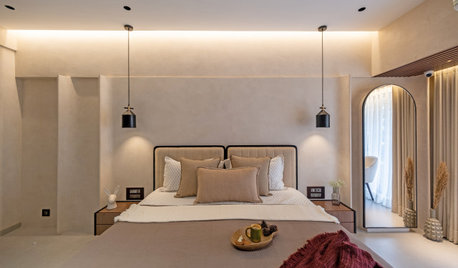 Mumbai Houzz: A Minimalist Home Inspired by Dunes and Brutalism