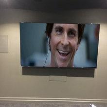 In wall speakers
