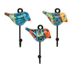 Novelty Hooks Beauteous Tropical Novelty Hooks Houzz Inspiration Design