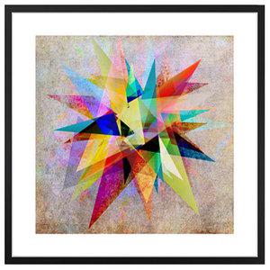 """Colorful 2"" Framed Art Print, 50x50 cm"