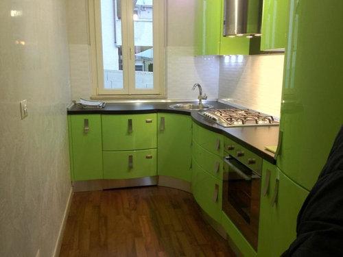 Abbinamento Colori per sala/cucina a vista