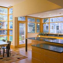 Dynamic's Glass Window Wall Ideas