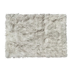 faux fur area rugs | houzz