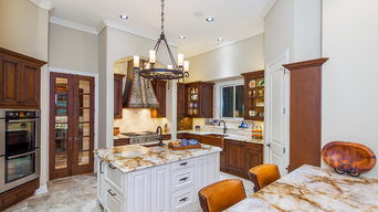 Transitional Family Kitchen