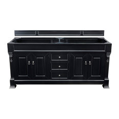"Brookfield 72"" Antique Black Double Vanity"