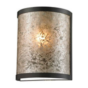 Mica 1-Light Sconce, Oil Rubbed Bronze