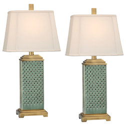 Transitional Lamp Sets by Medallion Lighting