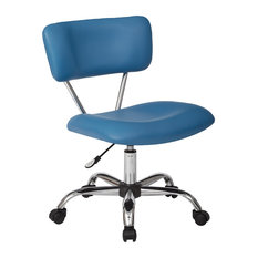 funky office chairs. office star products vista task chair in vinyl by ave six blue funky chairs