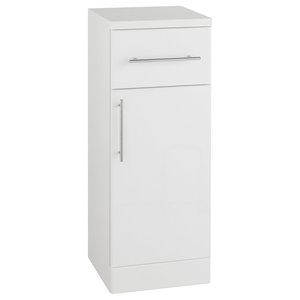 White Single-Door Storage Unit, 250x300 mm