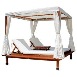 Transitional Outdoor Lounge Sets by Leisure Season Ltd.