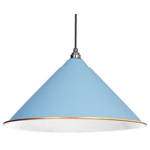 From The Anvil The Hockley Pendant, Pale Blue