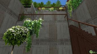 Végétalisation des espaces d'accès d'une terrasse à l'autre - PRO-AM-00088