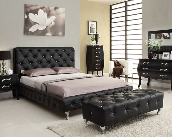 Stylish Leather Luxury Bedroom Furniture Sets   Bedroom Furniture Sets Nice Design