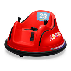 12V Kids Toy Electric Ride On Bumper Car, Red
