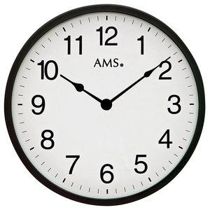 Sam Quartz Wall Clock, Black