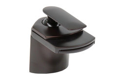 Oil Rubbed Bronze Waterfall Bathroom Faucet