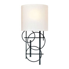 Signature 1 Light Wall Sconce in Black