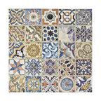 """SomerTile 12.5""""x12.5"""" Avila Ceramic Floor and Wall Tile, Decor"""