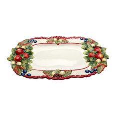 Fruity Christmas Platter
