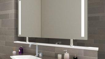 Badspiegel Raumteiler RM04L2V