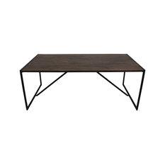 Antique Finish Dining Table, Medium