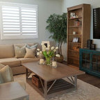 Recycled pallet and reclaimed wood paneling - Rustic ...