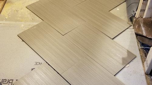 Bathroom Renovation - 12x24 Bathroom Tile Pattern Options