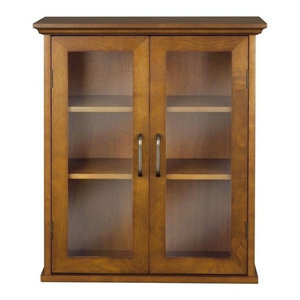 045 Elegant Home Fashions Lexington Wall Cabinet with 2 Doors