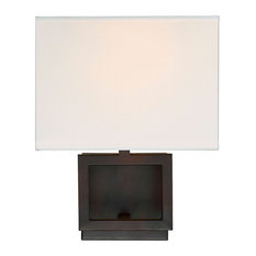 1-Light Wall Sconce, Oil Rubbed Bronze