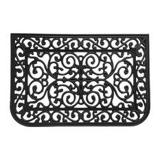 rubbercal liverpool outdoor cast iron door mat doormats