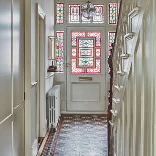 Design ideas for a traditional entrance in London.
