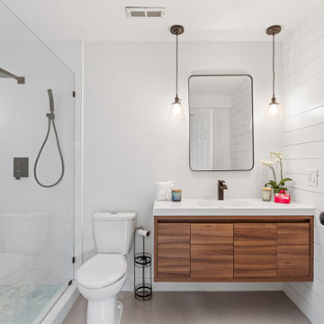 Bathroom for the Perfect Basement Apartment