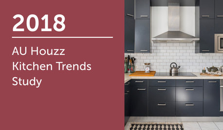 2018 AU Houzz Kitchen Trends Study