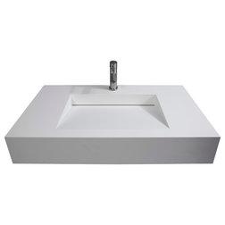 Modern Bathroom Sinks by Castello USA