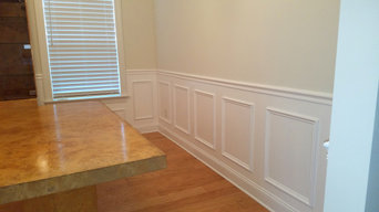 Chair and Wainscoting