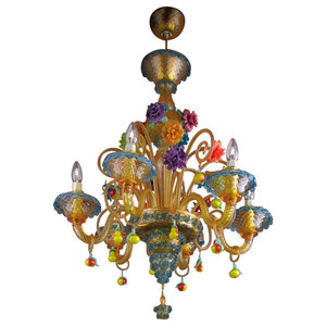 Fruttini Murano Glass Chandelier