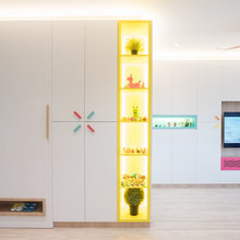 Houzz Tour: Pops of Colour Spell Fun in This Four-room Flat