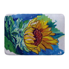Betsy Drake Windy SunFlower Bath Mat 24x30