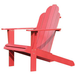 Contemporary Adirondack Chairs by Linon Home Decor Products