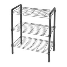 Quick Rack Instant Storage Rack, Black