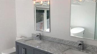 Custom Bathroom Vanity & Bathroom Renovation