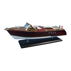 Riva Aquarama 20'', Scale Model Ship, Speed Boat Model, Model Speedboat, Na