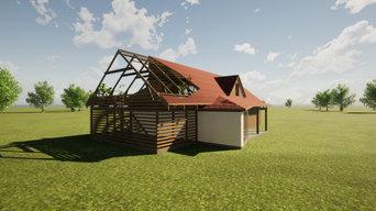 Ristrutturazione abitazione in campagna, Lettonia.