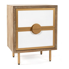 Positano Nightstand With 2 Drawers