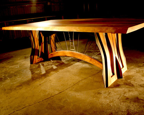 Bridges on Fire -  Madrone Dining Table - Dining Tables