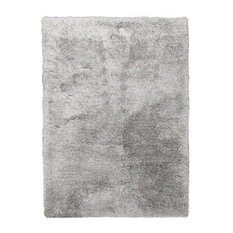 Mabel Hand-Tufted Rug, Silver, 130x190 cm