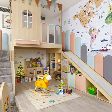 Baby Nursery and Play Room by Thinkcutieful